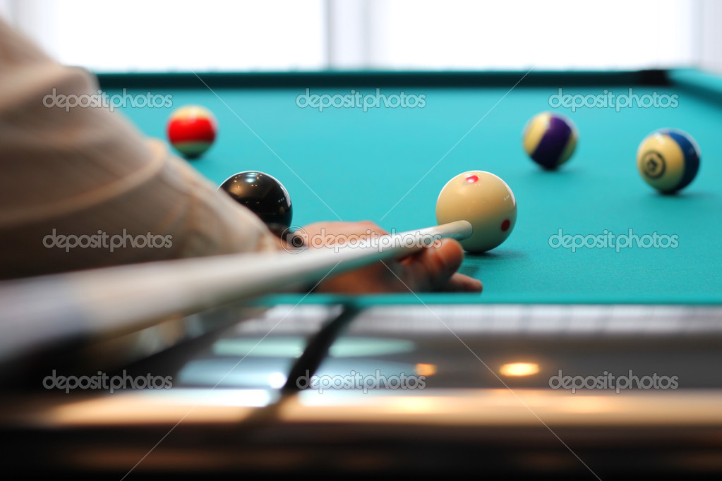 Biliard Pool  Stock Photo #9418745