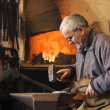 Blacksmith at work — Stock Photo #9532007