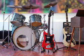 Rock Band Instruments — Stockfoto