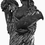 Sculpture of a women — Stock Photo