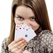 four aces — Stock Photo