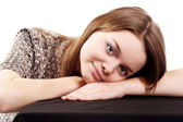 Attractive young girl posing — Stock Photo