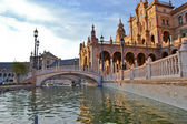 Plaza de Espana on Seville — Stock Photo