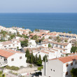 Views of Santa Pola town - Stock Photo