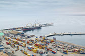 Arica harbor — Stock Photo