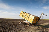 Agricultural trailer — Stock Photo