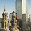 Stock Photo: Cathedral of Santiago de Chile, Chile