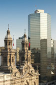Cathedral of Santiago de Chile, Chile — Stock Photo