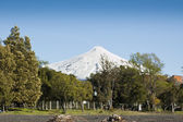 Villarrica Volcano — Stock Photo