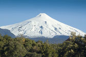 Villarrica Volcano, Pucón, Chile — Stock Photo