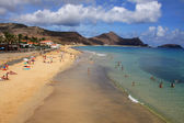 Porto Santo beach — Stock Photo