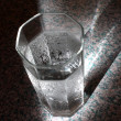 Glass with Chilled Water — Stock Photo