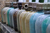 Military Water Bottles, Vietnam — Stock Photo