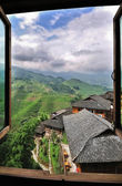 Rice Terraces, Guilin, China — Stock Photo