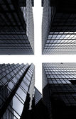 Skyscraper Crossroads Hong Kong — Stock Photo