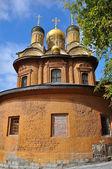 золотой купольная церковь, москва — Стоковое фото