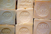 Marseille Soap in a Provence Market — Stock Photo