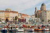 Le port de Saint Raphael — Stock Photo