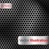 Dark dot matrix background — Stock Vector