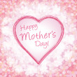 Happy mother&amp;#039;s day background, vector illustration - Vettoriali Stock 