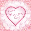 Happy mother's day background, vector illustration — Stock Vector
