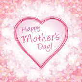 Happy mother's day background, vector illustration — Stockvector