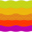 Colorful seamless waves pattern — Stock Vector