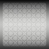 Sömlös silver damast tapeter — Stockvektor