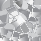 Abstract 3d illustration of cubes — Stock Photo