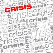 Sameless 危機のテキストの背景 — ストックベクタ