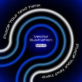 霓虹灯抽象背景 — 图库矢量图片