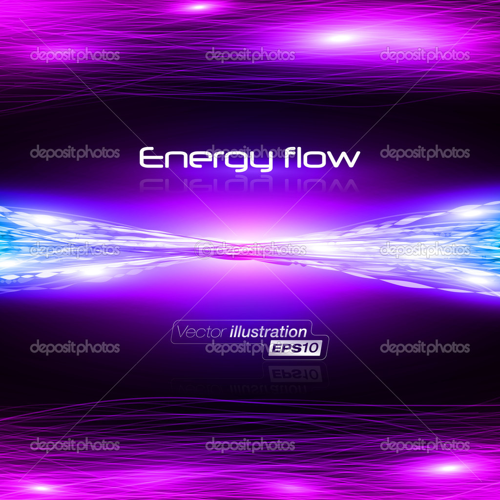 Vector illustration of futuristic abstract glowing background  — Stock Vector #9654847