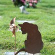 Stock Photo: Pet Grave Marker