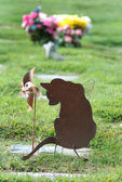 Pet Grave Marker — Stock Photo