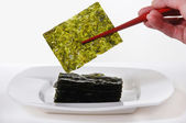 Roasted Seaweed — Stock Photo