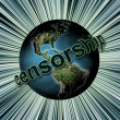 Global censorship — Stockfoto
