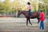 Riding Instructor — Stock Photo