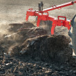 Stock Photo: Plowing in Autumn