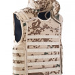 Camouflage bulletproof vest — Stock Photo