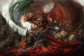 Zırhlı dragon — Stok fotoğraf