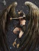 Homem águia — Foto Stock