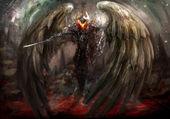 Kanatlı overlord — Stok fotoğraf