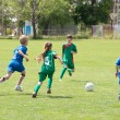 Children playing soccer — Stock Photo #10724959