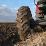 Tractor Tire — Stock Photo