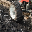 Tractor plowing — Stock Photo #9667170