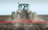 Spring soil preparation — Stock Photo