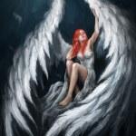 Angel girl — Stock Photo #9768898
