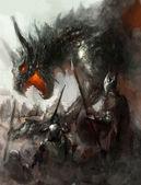 Caça ao dragão — Foto Stock