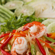 Green papaya salad — Stockfoto