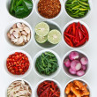 Thai food Ingredients - Stockfoto